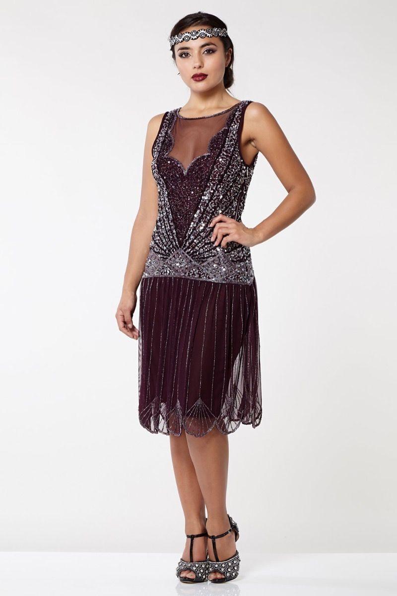 1920s Dresses UK | Flapper Dresses, Gatsby Dress