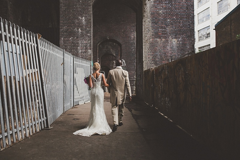 A Colourful Contemporary Wedding At Fazeley Studios Digbeth Bride in Justin Alexander Gown Photography by Jordanna Marston 0015 Love In A Hopeless Place.