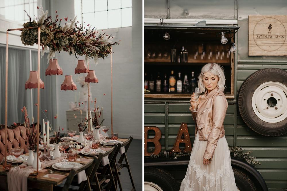 Blush Pink Wedding Invitations & Decor for Romantic But Fun Inspo