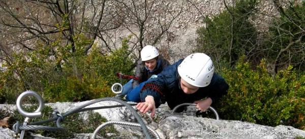 Crazy Pack canyoning via ferrata jura bugey saint claude pays de gex geneve lausanne nyon lyon