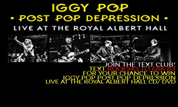 Iggy Pop! CD/DVD Giveaway!