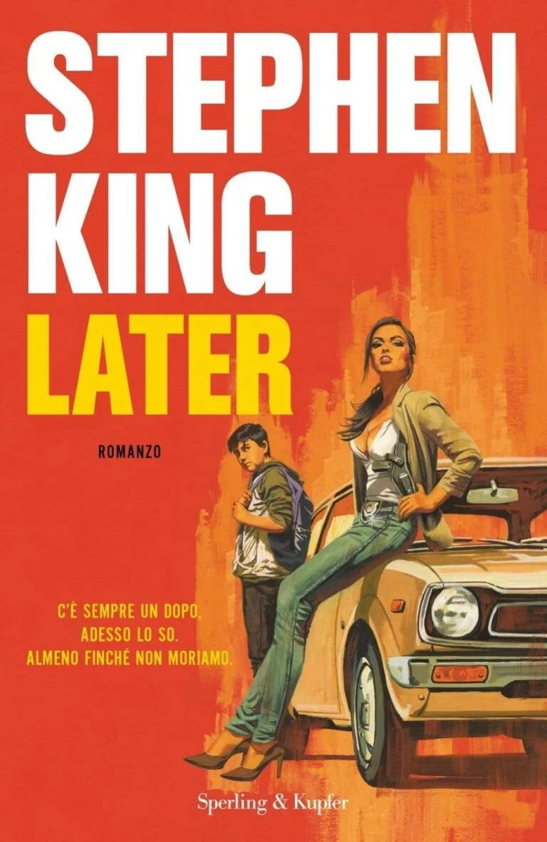 Recensione di Later – Stephen King