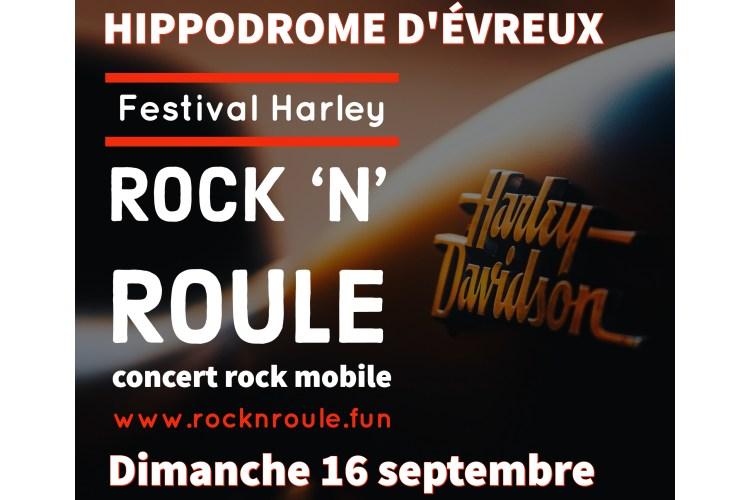festival harley davidson à l'hippodrome d'évreux