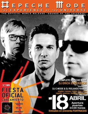Fiesta de lanzamiento del nuevo álbum de Depeche Mode