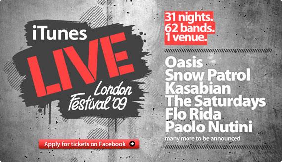 iTunes Live festival 2009