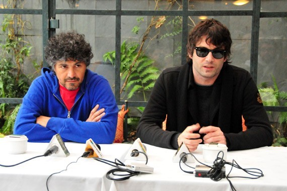 """Mariano """"Roger"""" y Diego """"Panza"""" de Babasónicos"""