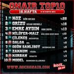 OnAir Top10 Sonuçları - 16.Hafta