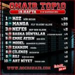 OnAir Top10 Sonuçları - 19.Hafta