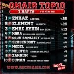 OnAir Top10 Sonuçlar- 7.Hafta