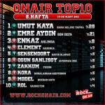 OnAir Top10 Sonuçlar- 8.Hafta
