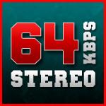 64kbps Stereo