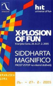 Eksplozija zabave s Siddharto in Magnificom