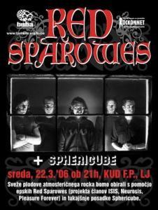 Red Sparowes - novopečeni bend, začinjen z masivnim »rifovjem« a-la Isis in Neurosis