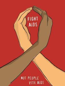 Aids ne izbira. Ti lahko!