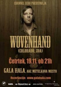 Vabimo na Wovenhand