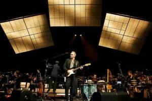 Sting z orkestrom dan po Ljubljani