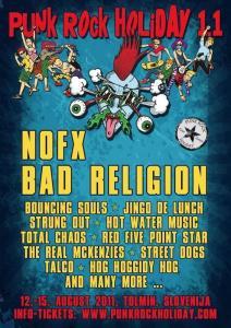 Opomnik za Punk Rock Holiday 1.1.