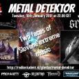 Metal Detektor tokrat gosti dva slovenska benda - Corduro in Srd.
