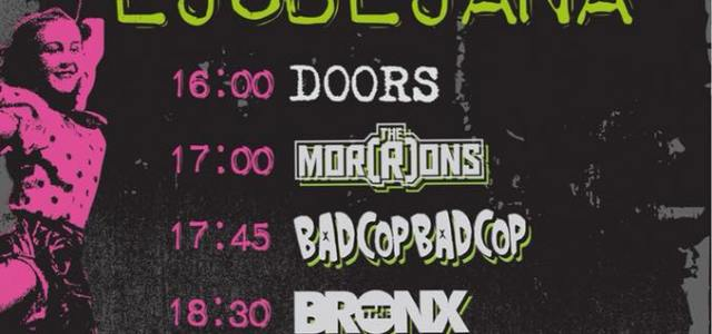 21. junija se bo v Ljubljani odvijal festival Punk in Drublic.