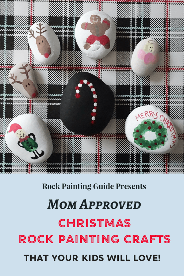 christmas rock painting cover