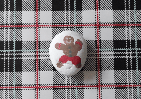 gingerbreadmanpaintedrock