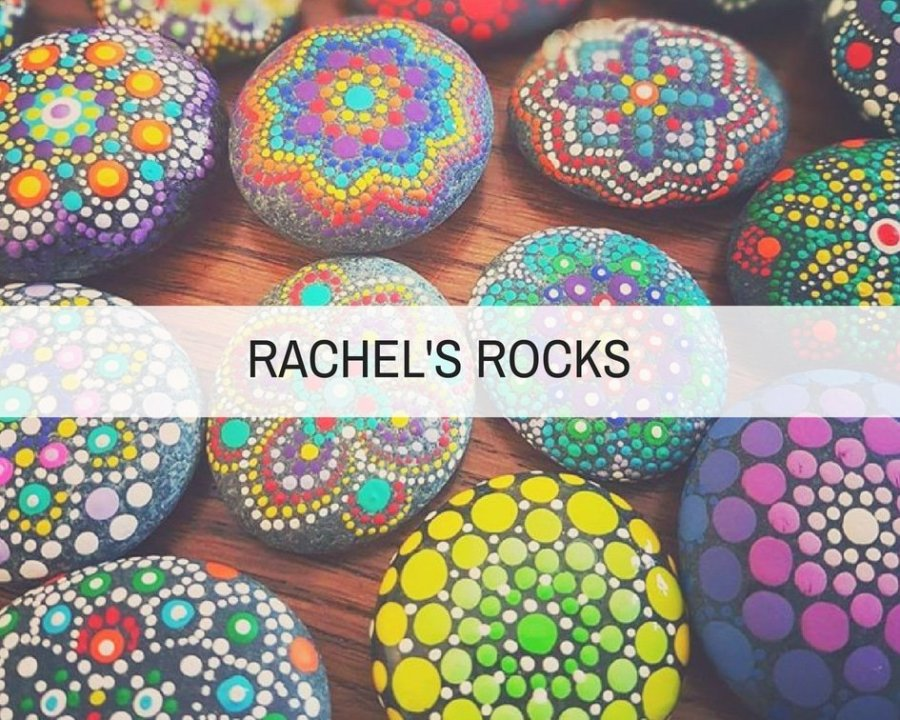 rachel's rocks feature