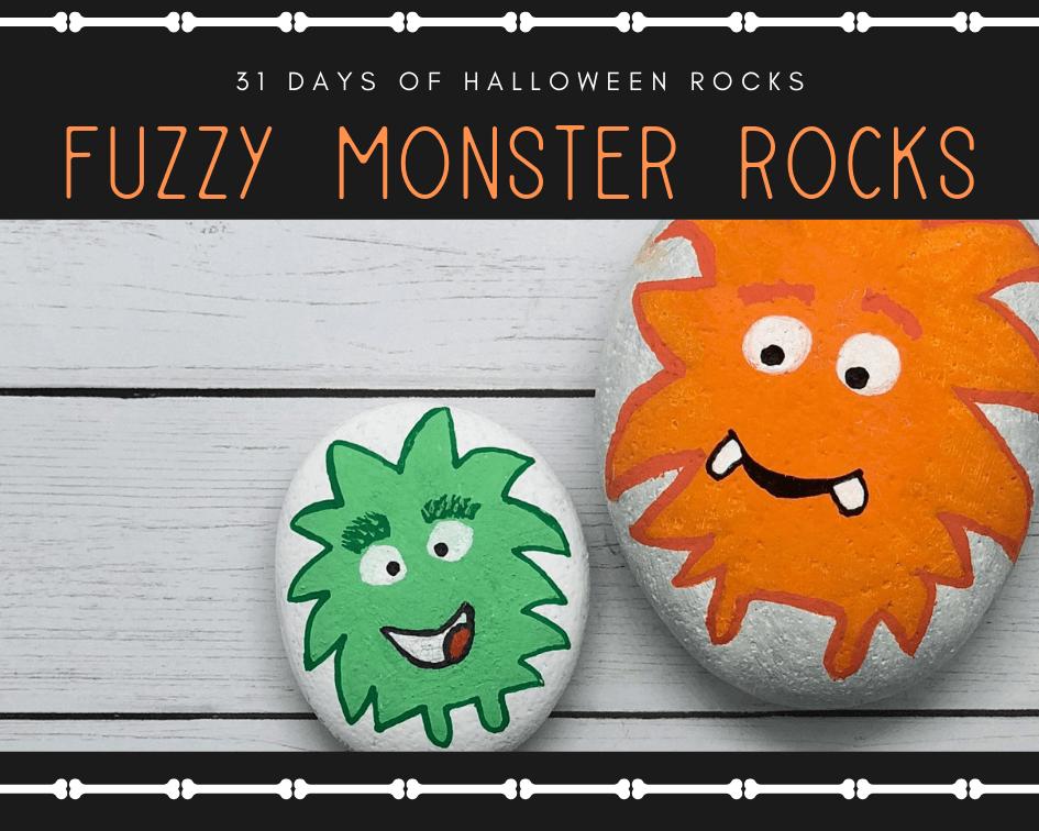 fuzzy monster rock