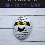 mummy rocks pin - Halloween Mummy Rock Painting Tutorial (Mummy Approved)