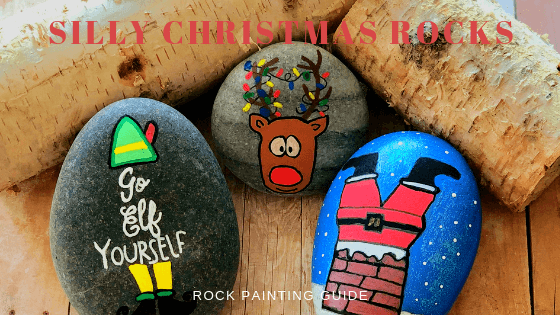 silly christmas rocks