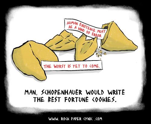 Bildergebnis für Schopenhauer Comic
