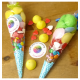 Image of personalised party cones. Great for birthday parties.