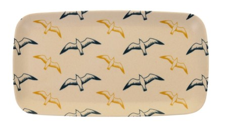 Image of the Whitby Seagulls Bamboo Small Tray