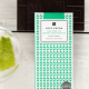 Image of the Gin and Tonic Dark Chocolate bar. From Love Cocoa