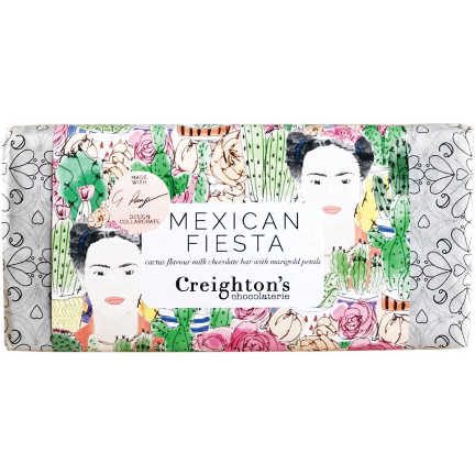 image of the mexican fiesta chocolate bar from creightons