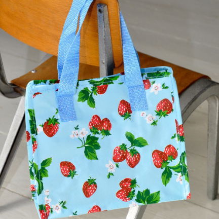 Image of the summer strawberry charlotte bag