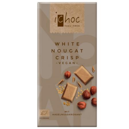 Image of white nougat crisp ichoc