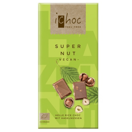 Image of super nut ichoc, vegan chocolate