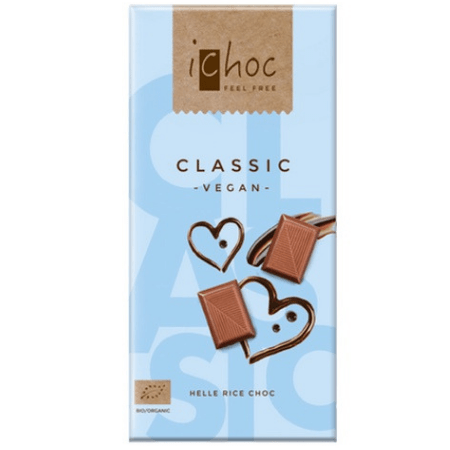 image of classic vegan ichoc, vegan chocolate