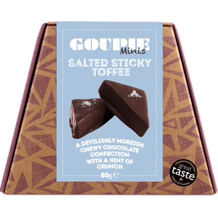 Image of the Goupie Mini Salted Sticky Toffee