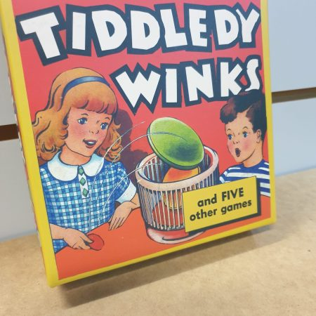 Image of the tiddledy winks games