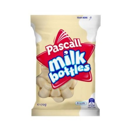 Image of Pascall Milk Bottles bag 170g