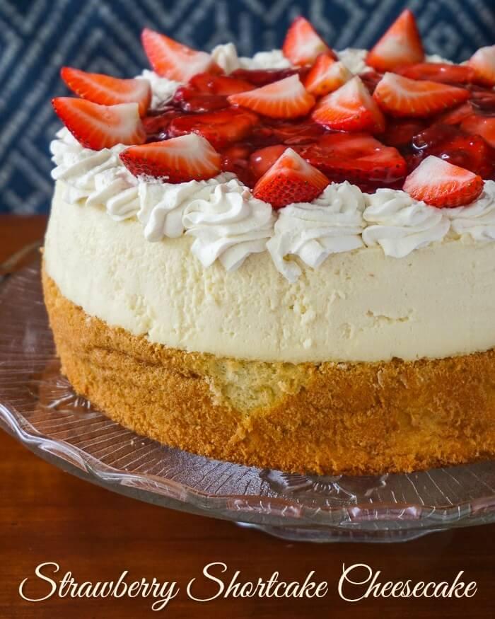 Baked Strawberry Shortcake