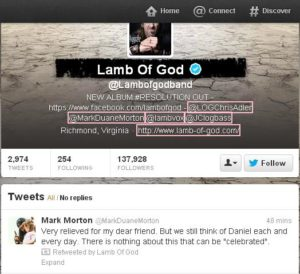 Lamb Of God  Lambofgodband  on Twitter