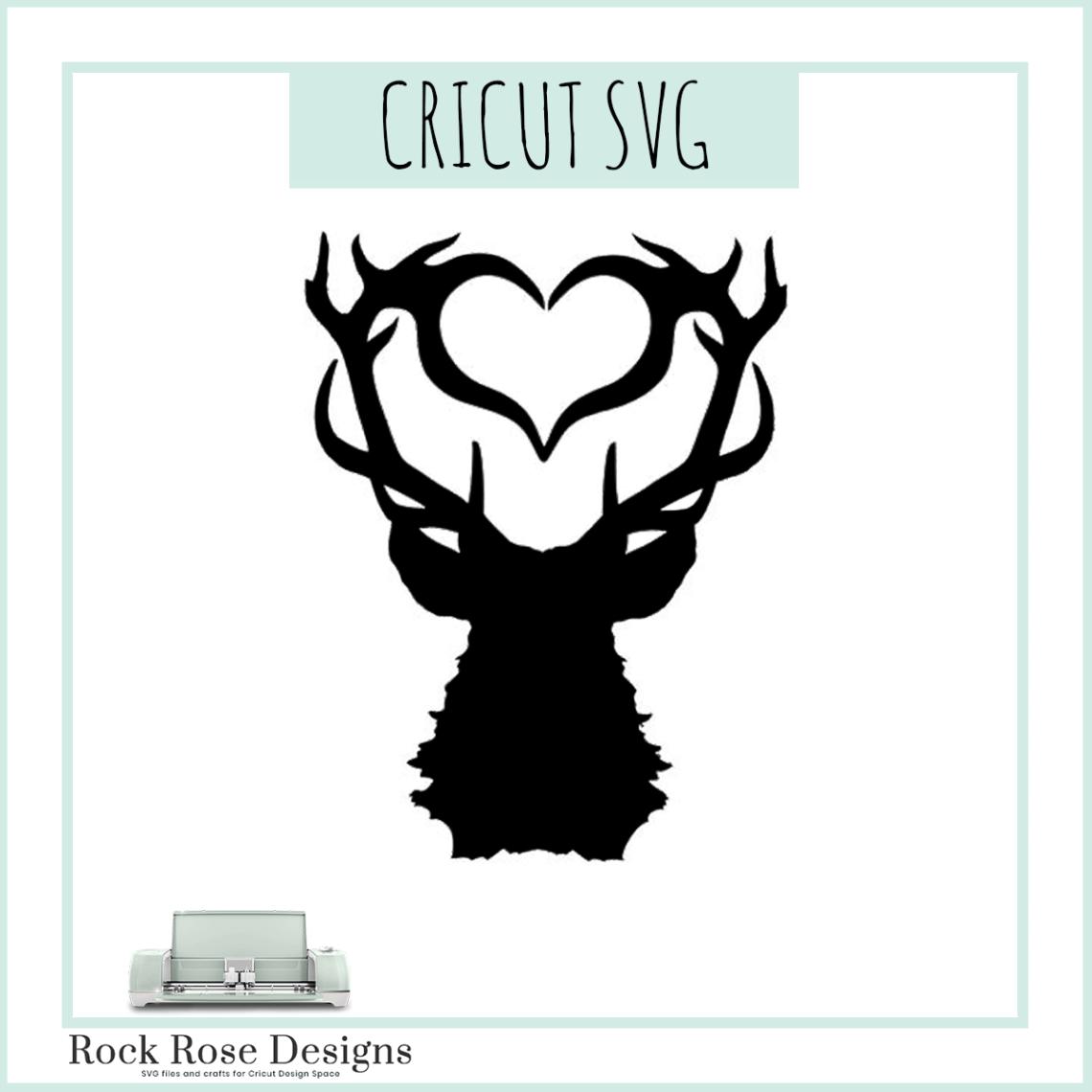 Download Love Stag - SVG CUT FILE Rock Rose Designs - Rock Rose Designs