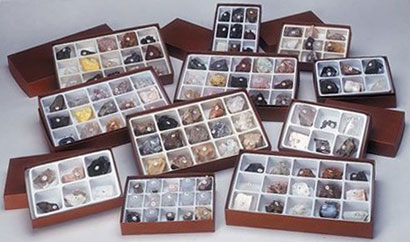 Boxed Rock and Mineral Collections from Rockman