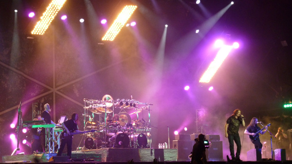Dream Theater on stage at High Voltage 2011