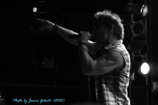 Fozzy singer & WWE superstar Chris Jericho on stage at London's Electric Ballroom Dec 2012 - Photo 1