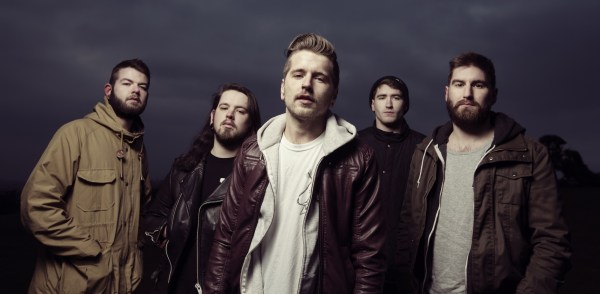 Bury Tomorrow band photo