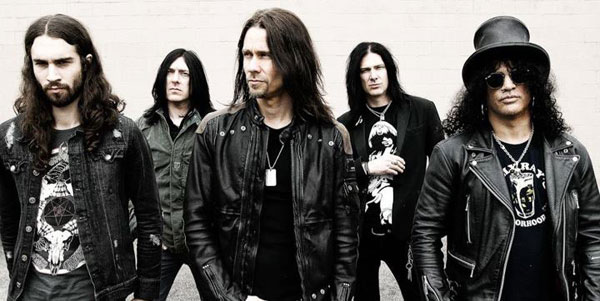 Slash with Myles Kennedy and The Conspirators band photo