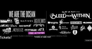 Butserfest lineup poster 2013